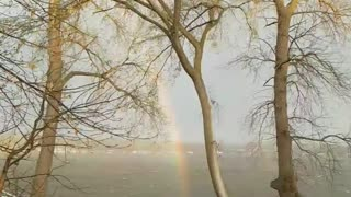 Minnesota Family accidentally found what's at the end of the Rainbow!