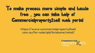 Important tips to buy retail space at Brisbane - Video