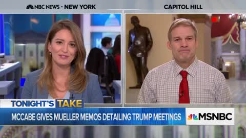 Jim Jordan Clashes With MSNBC's Katy Tur: 'I Want To Keep You Focused On The Facts'