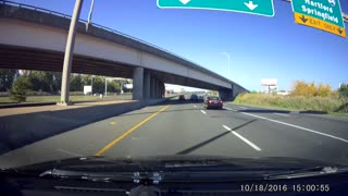 Close Call with Nissan Murano - Video