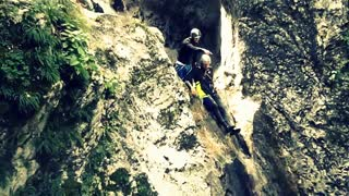 Amazing canyoning Rocket in Bovec Slovenia