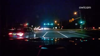 Car pulls out in front