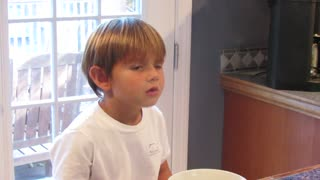 4-year-old toddler is frustrated because he can't get married! - Video