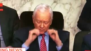 Orrin Hatch and the Invisible Glasses - Video