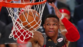 Russell Westbrook SHOVES John Wall, Doesn't Care That It's the All-Star Game - Video
