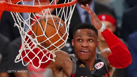 Russell Westbrook SHOVES John Wall, Doesn't Care That It's the All-Star Game