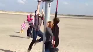 The best fails swing fall