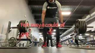 Deadlifting at 60 years old
