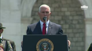 Vice President Pence Opening Remarks At National Peace Officer Memorial - Video