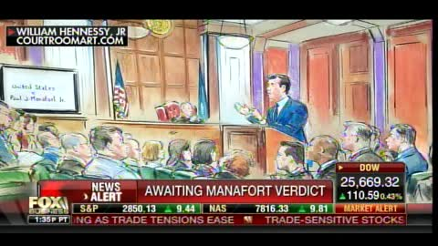 Paul Manafort Is Being Held in Tiny Prison Cell with No Reading Material or TV During Trial