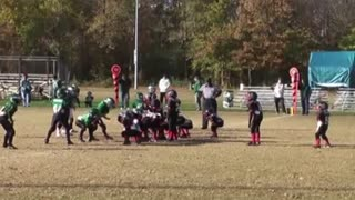 Crazy Football Trick Play Results In Touchdown - Video