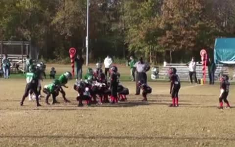 Crazy Football Trick Play Results In Touchdown