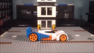 STOPMOTION CiiC Mega Bloks Hot Wheels 24ours Set  #91738 - Video