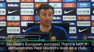 luis Enrique press - Video
