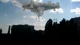 UFO over our city 02.08.2018