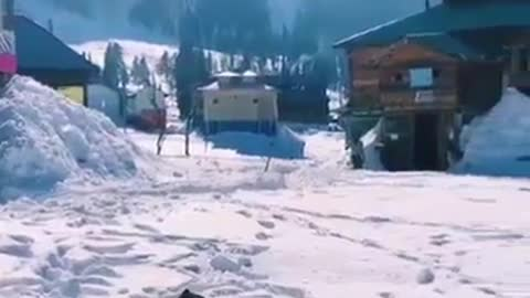 Heart touching view of arang kel vally kashmir