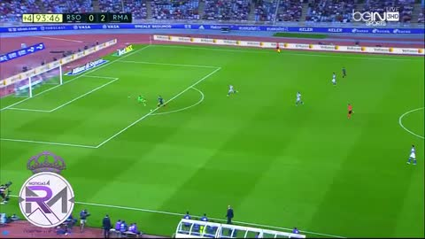 VIDEO: Bale scores his 2nd personal goal vs Sociedad