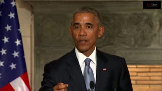 President Obama Warns Against Nationalism - Video