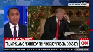 CNN Reporter Falsely Claims Republicans Funded Trump-Russia Dossier - Video