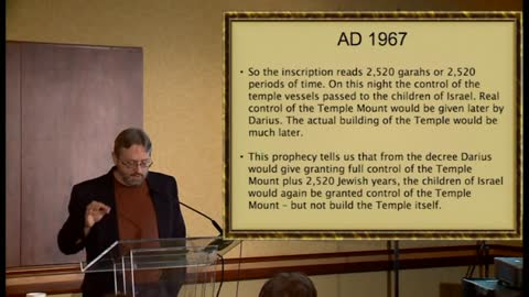 Timed Prophecies of 1948 and 1967