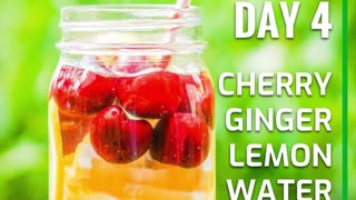5 day fat-burning detox water challenge