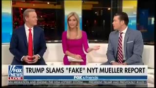 Fox & Friends Shrugs Off Bombshell New York Times Report: 'Do You Even Care?' 1 - Video