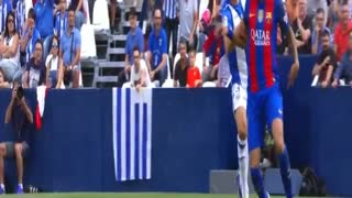 Lionel Messi Penalty Goal - Leganes vs FC Barcelona 1-5 - Video