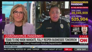 Houston police chief on Masks