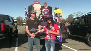 "Ep. 1 President Trump's Caravan Supporters on ""Inspired Blessings with Jean Marie Prince."""