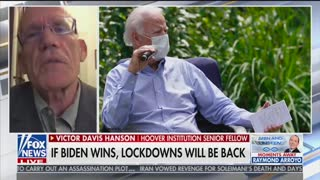 Victor Davis Hanson says Biden being 'held hostage' by his own party