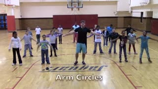 "Gym teacher choreographs cardio version of ""Nae Nae"""