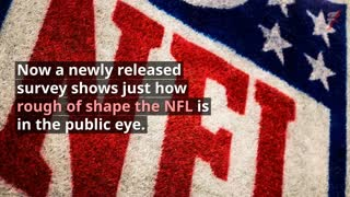 NFL Is Most Unfavorable Sport for Third Month in a Row — Just Look How Bad It Is - Video