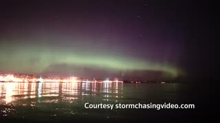 Minnesotans treated to rare light show - Video