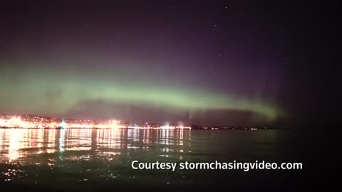 Minnesotans treated to rare light show