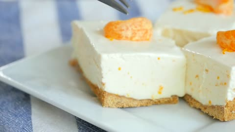Orange Creamsicle Freezer Bars