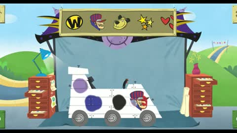Make and Race with famous cartoon characters : Beautiful witch