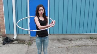 How to Dance with a Hula Hoop - Video