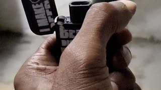 Torch lighter in super slow mo