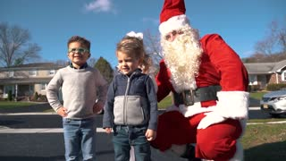 Santa now delivering Christmas trees in New Jersey
