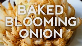 Delicious recipes: Baked blooming onion - Video