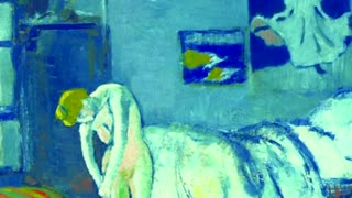"Experts eager to identify the man behind Picasso's ""Blue Room"" - Video"