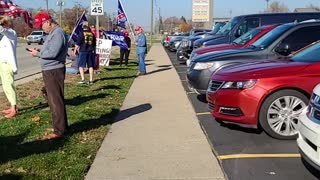 November 8, 2020, Shelby Township, Stop The Steal Rally