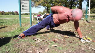 Super Strong 64 Year Old Great Grand Pa !!! - Video