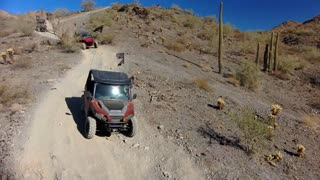 Skydio 2 tracking UTV Ride