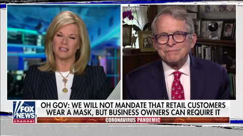 Ohio Gov. Mike DeWine on data used to inform plan to reopen state