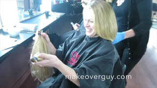MAKEOVER: Cut My Long Thick Curly Hair, by Christopher Hopkins, The Makeover Guy® - Video