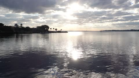 Beautiful Morning on the Saint Lucie River!