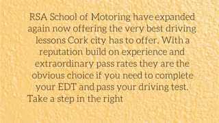 Driving School in Cork - Video