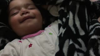 Cutest way possible to wake a baby? - Video