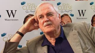 John Cleese says he wasn't excited by Python reunion shows - Video